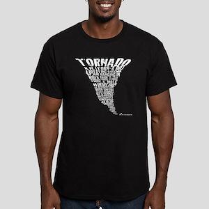 Cafepress Tornado Shir Men's Fitted T-Shirt (dark)