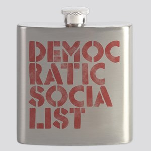 DEM-SOC-RED Flask