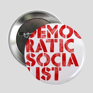 "DEM-SOC-RED 2.25"" Button"