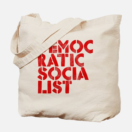 DEM-SOC-RED Tote Bag