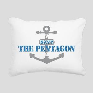 VA The Pentagon 2 Rectangular Canvas Pillow