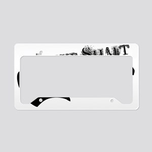 Drive Shaft Hat License Plate Holder