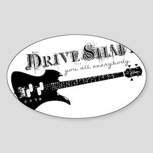 Drive Shaft Hat Sticker (Oval)