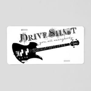 Drive Shaft Hat Aluminum License Plate