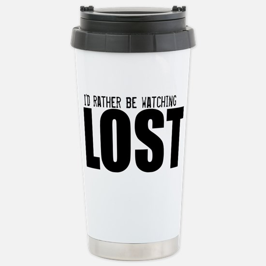 RW Lost Hat Stainless Steel Travel Mug