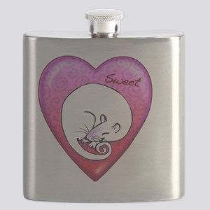 Sweet rat necklace Flask