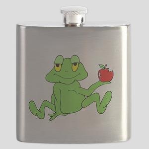 Frog Apple -dk Flask