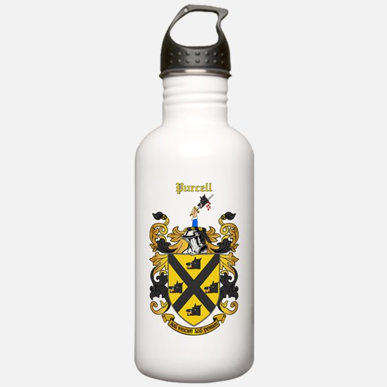 purcell_8x10_trans Water Bottle