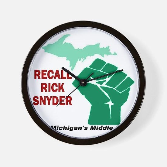 recall_rick Wall Clock