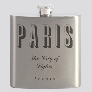 Paris_10x10_apparel_France_TheCityOfLights_B Flask