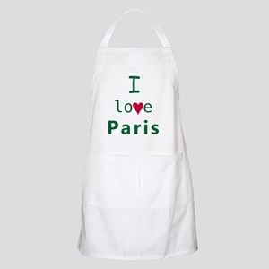 Paris_10x10_apparel_ILoveParis_GreenRed Apron