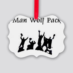 5manwolfpack Picture Ornament