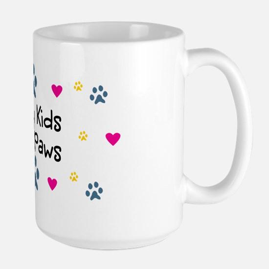 All My Kids Have Paws Large Mug