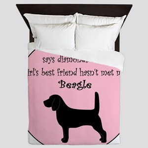GBF_Beagle Queen Duvet