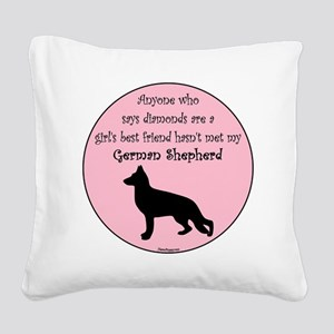 GBF_German Shepherd Square Canvas Pillow