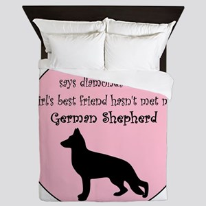 GBF_German Shepherd Queen Duvet