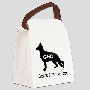 GSD_GodsSpecialDog Canvas Lunch Bag