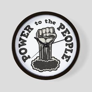 power-people-LTT Wall Clock