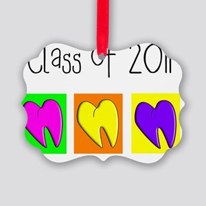 Dental Class of 2011 3 teeth Picture Ornament