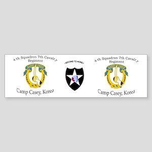 4th Squadron 7th Cavalry mug1 Sticker (Bumper)