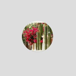 Cactus and Bougainvillea 2 Mini Button