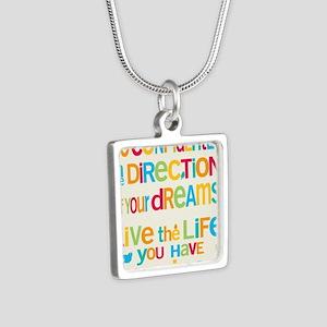 Dreams_16x20_Blank_HI Silver Square Necklace