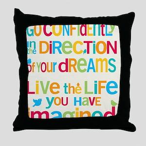 Dreams_16x20_Blank_HI Throw Pillow