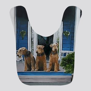 3 Airedale on porchll Bib