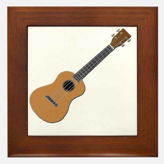 ukulele Framed Tile