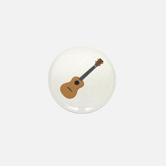 ukulele Mini Button