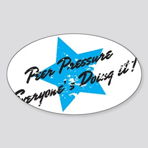 peerpressure Sticker (Oval)