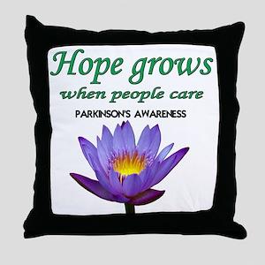 hope grows Throw Pillow