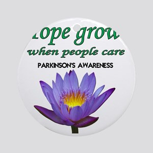 hope grows Round Ornament
