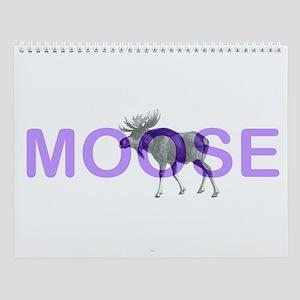Moose Wall Calendar