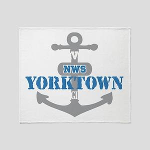 VA Yorktown 2 Throw Blanket