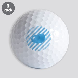 big_jelly_bean_blue_stripes_b Golf Balls