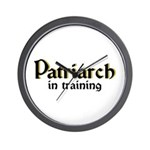 Patriarch in training Wall Clock