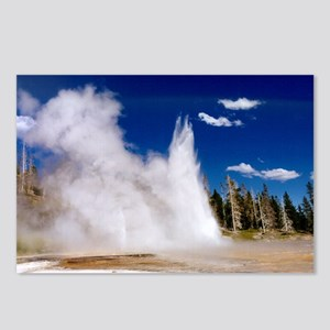 Geyser 3 Postcards (Package of 8)