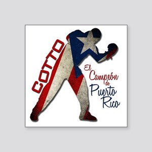 "cotto 2k11 Square Sticker 3"" x 3"""