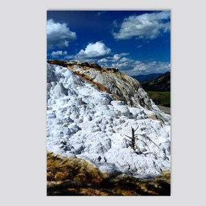 Mammoth Hot Springs Postcards (Package of 8)
