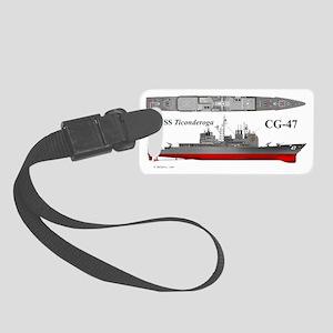 Tico_CG-47_Wrap_Mug Small Luggage Tag