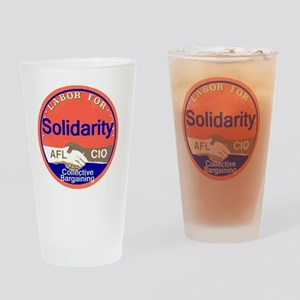 Solidarity Drinking Glass