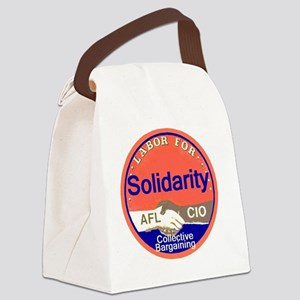 Solidarity Canvas Lunch Bag