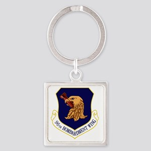96th Bomb Wing Square Keychain