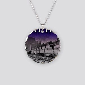 trainbest Necklace Circle Charm