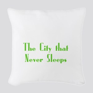 NewYork_10x10_apparel_USA_The  Woven Throw Pillow