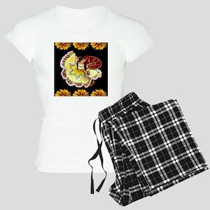 quinceanera_dancer_12insq Women's Light Pajamas