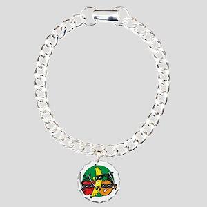 ninjafruit Charm Bracelet, One Charm