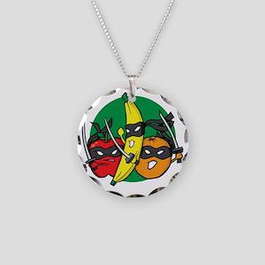 ninjafruit Necklace Circle Charm