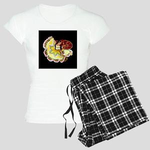 quinceanera_dancer_12insqno Women's Light Pajamas